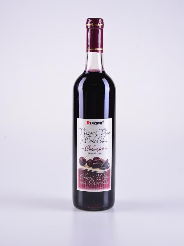 """Višňové víno sčokoládou, """"Čokovišeň"""" – Pankovo"""