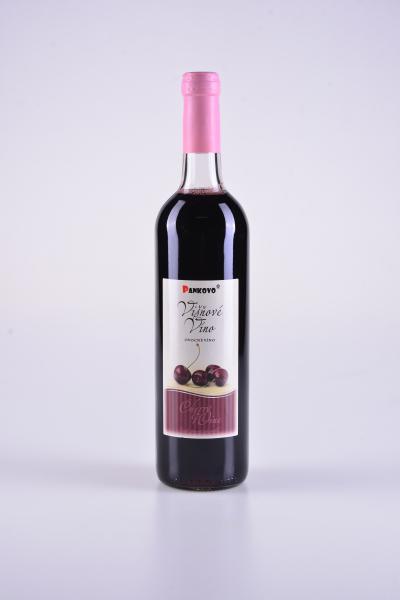 Višňové víno s karamelem – Pankovo