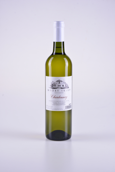 Chardonnay, jakostní, polosuché, 2017 – Modrý sklep