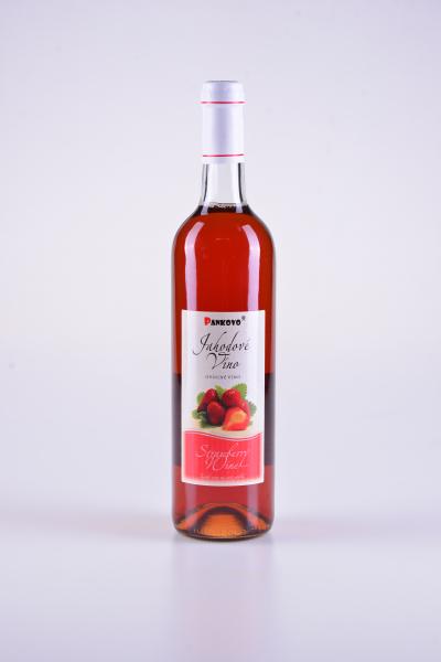 Jahodové ovocné víno – Pankovo