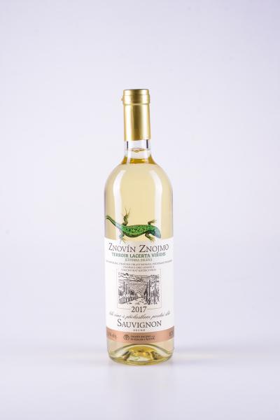 Sauvignon, pozdní sběr, suché, 2017 – Znovín