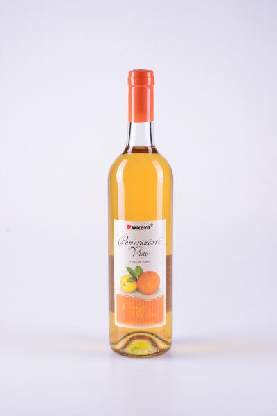 Ovocné víno pomerančové – Pankovo