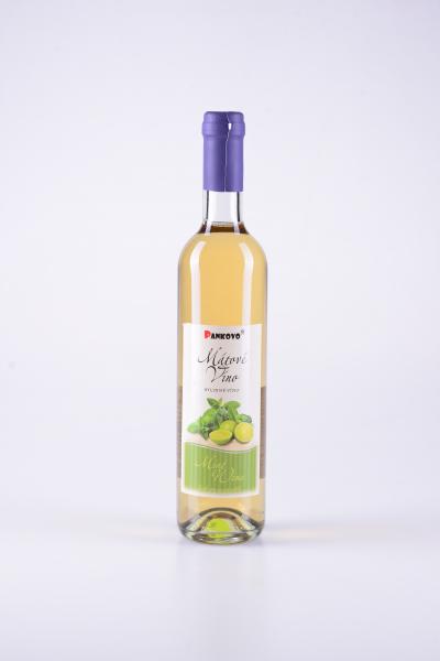 Bylinné víno zlistů máty peprné – Pankovo