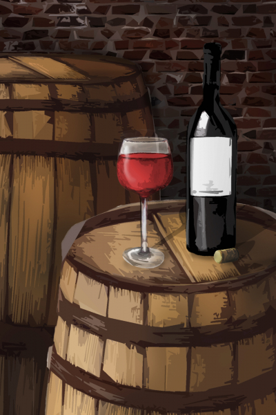 Sudové víno – MERLOT, polosladké – Royal Wine