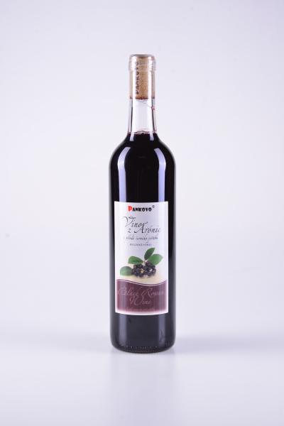 Víno zplodů arónie (bobulí černého jeřábu) – Pankovo