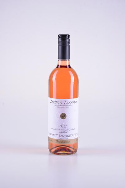 Rosé Cabernet Sauvignon, jakostní, polosuché, 2017 – Znovín