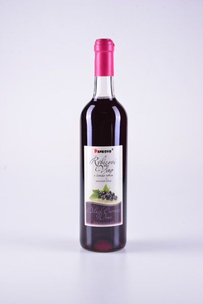 Ovocné víno zčerného rybízu – Pankovo