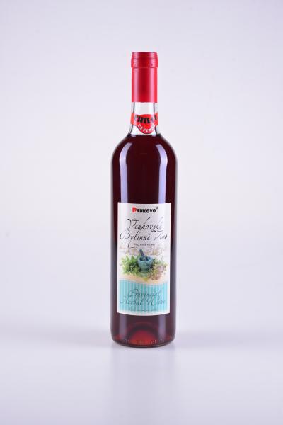 Venkovské bylinné víno, byliny a chilli cayenn pepper – Pankovo