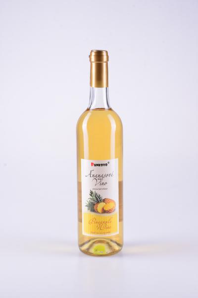 Ananasové ovocné víno – Pankovo