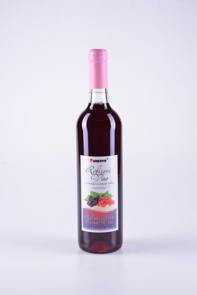 Ovocné víno zčerveného a černého rybízu – Pankovo