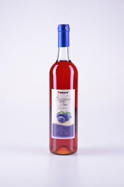 Švestkové ovocné víno – Pankovo