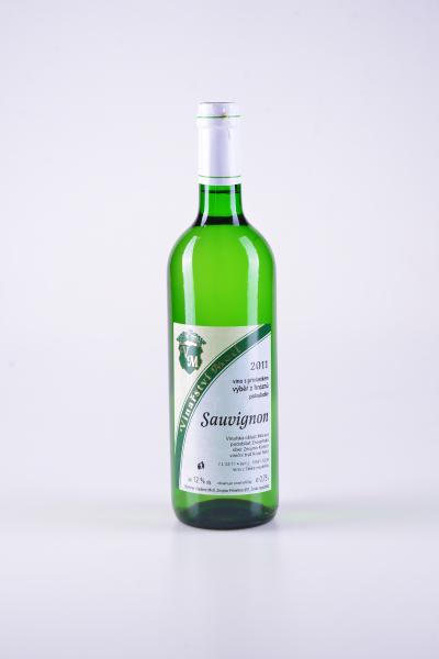 Sauvignon, výběr z hroznů, polosladké, 2011 – Motl