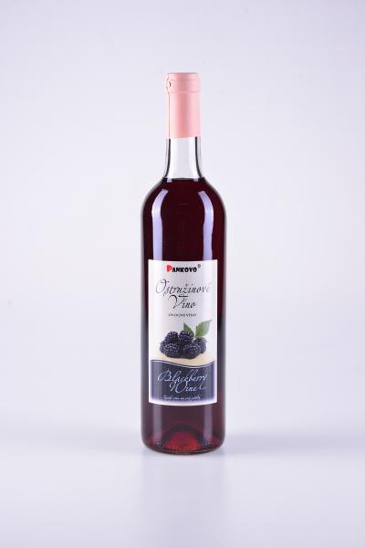 Ostružinové víno – Pankovo