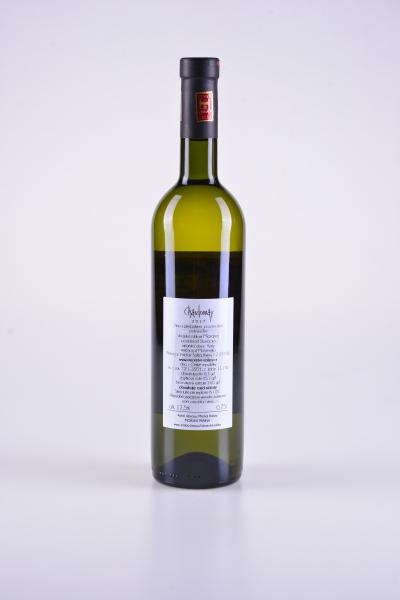 Chardonnay, pozdní sběr, polosuché, 2017 – Šalša